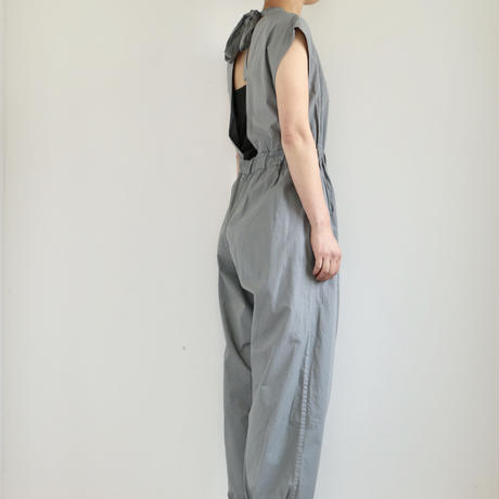 COSMIC WONDER /Organic cotton overalls (lady's /GRAY MOON)
