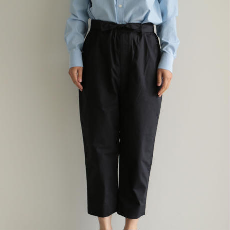 COSMIC WONDER / Ancient mythic cotton obi pants(men's,lady's/Black)