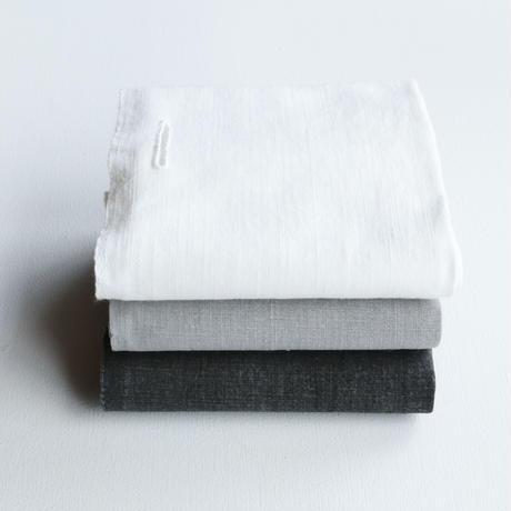 石井すみ子暮らしのデザイン室/手織り布巾(白布)