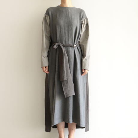 COSMIC WONDER /Ancient mythic ceremony long sleeves dress (lady's /Gray)