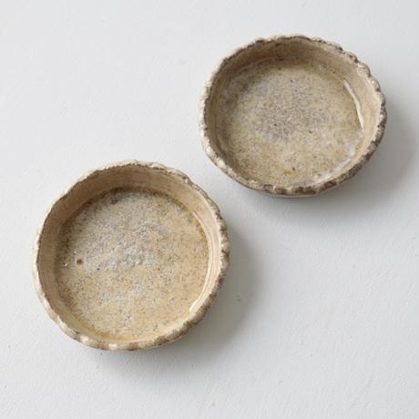 石井直人/粉引丸皿A