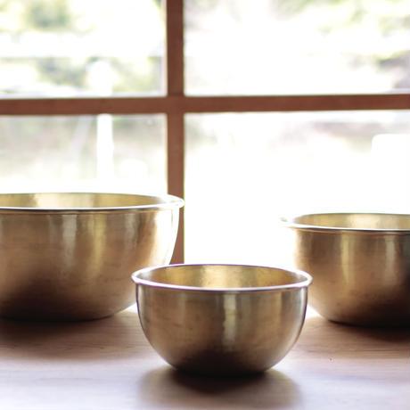 石井すみ子/  真鍮ボウル(大)