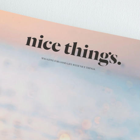 nice things/issue64