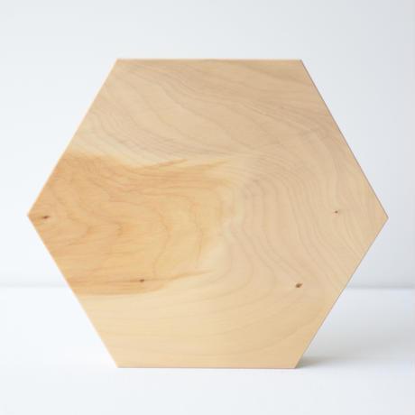 石井すみ子暮らしのデザイン室/六角まな板(銀杏)