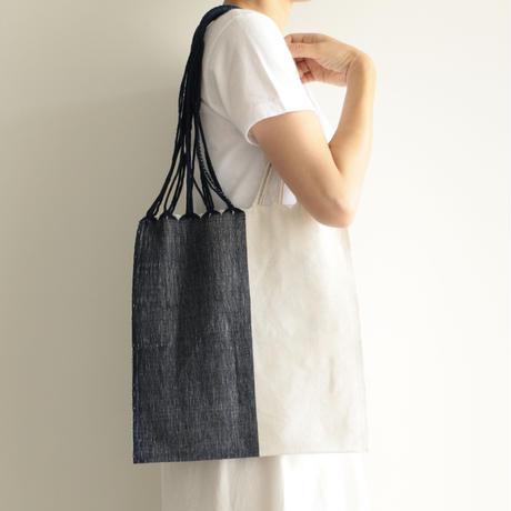 pips /HAMMOCK BAG (WHITE×BLUE)