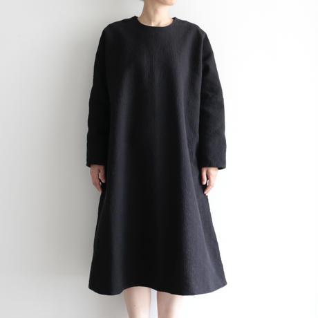 COSMIC WONDER / Flower of life sashiko dress(lady's /Black)