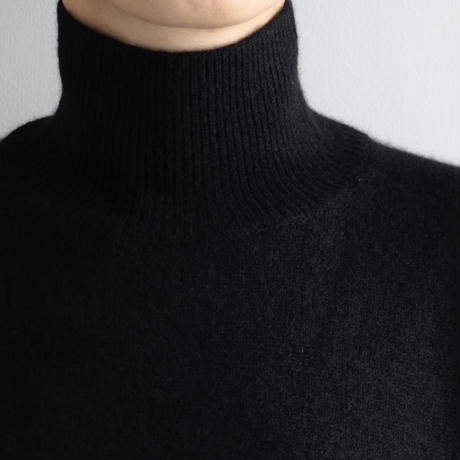 AURALEE / BABY CASHMERE KNIT TURTLE NECK P/O(Lady's/BLACK)