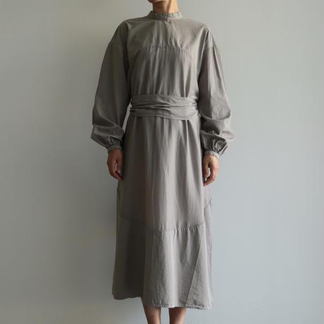 COSMIC WONDER /Beautiful mythic ceremony silk cotton circle indication dress (lady's /Ashen moon)