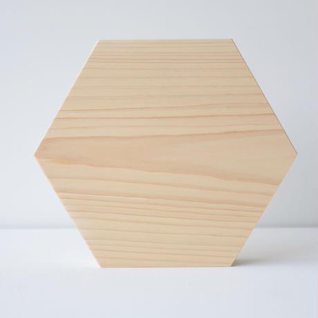 石井すみ子暮らしのデザイン室/六角まな板(檜)