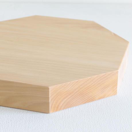 石井すみ子暮らしのデザイン室/八角まな板(銀杏)