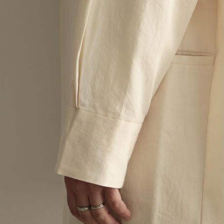 pssst,sir  /slip_jacket (Lady's/White)