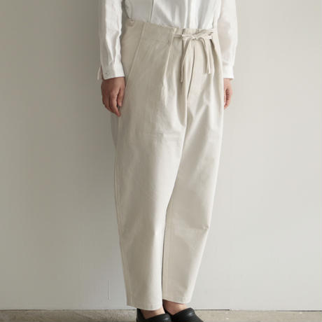 pssst,sir  /slip pants (Men's,Lady's/White)