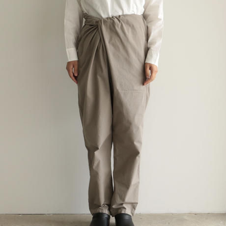 COSMIC WONDER /Organic cotton wrapped pants (Ashen moon)