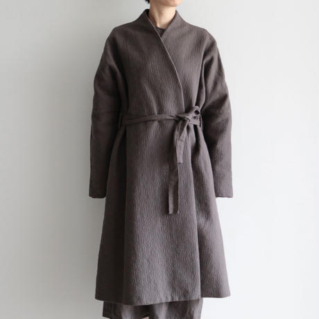 COSMIC WONDER / Flower of life sashiko folk haori(lady's ,men's /Ancient soot)