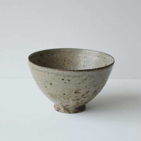 尾形アツシ/灰釉特大深鉢