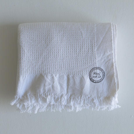 Khadi and Co / Cotton waffle towel(L)