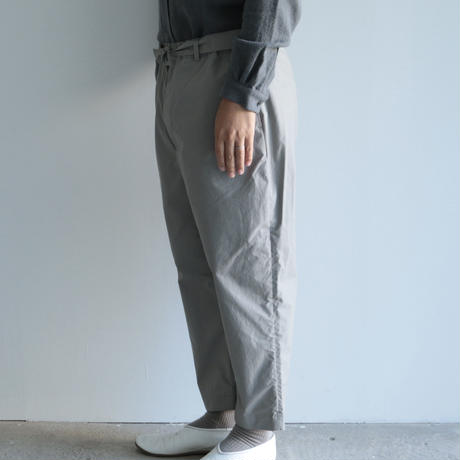 COSMIC WONDER / Ancient mythic cotton obi pants(men's/Gray)