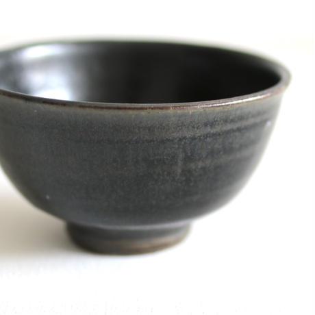 田谷直子/碗(黒瑠璃)