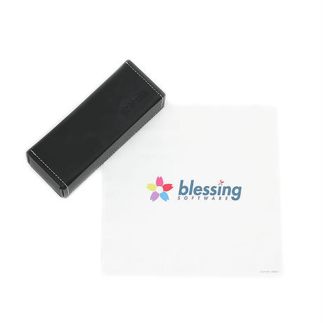 "EYEWARE CASE & CLOTH ""blessing software"""