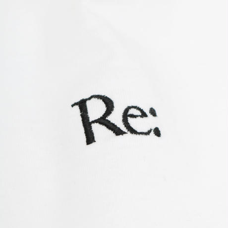 """Re:"" EMBROIDERY T-SHIRT"