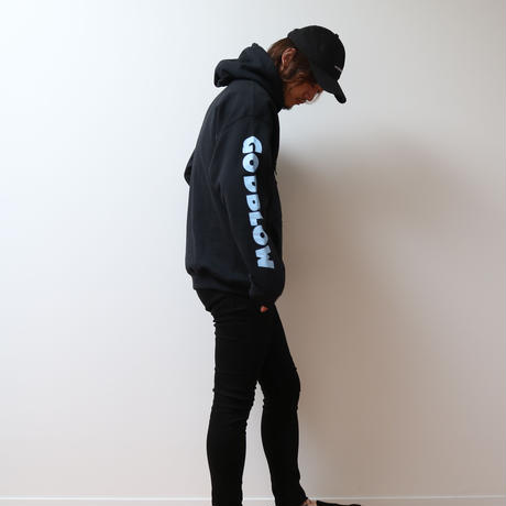 SLEEVE PRINT SWEAT PARKA