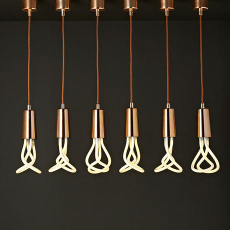 PLUMEN | DROP CAP PENDANT | Copper