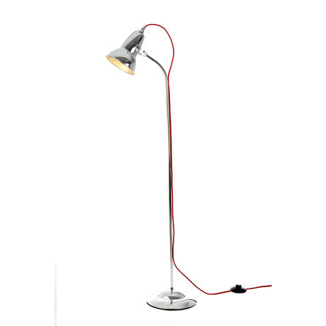ANGLEPOISE |  DUO FLOOR | CHROME with RED CABLE | 廃番品クリアランス