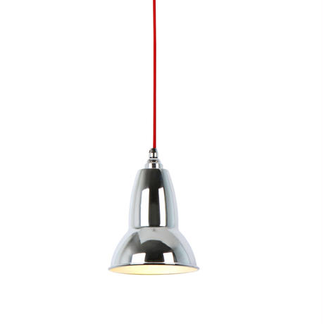 ANGLEPOISE | DUO PENDANT | CHROME with RED CABLE | 廃番品クリアランス