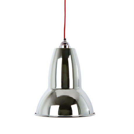 ANGLEPOISE | DUO MAXI PENDANT | CHROME with RED CABLE | 廃番品クリアランス