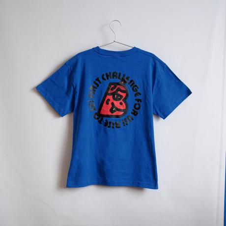 【J2元年】B NAMAHAGE Tシャツ / ロイヤルブルー