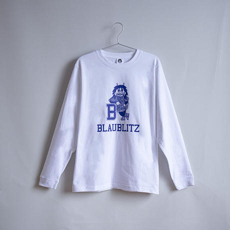 namahage L/S TEE / ホワイト