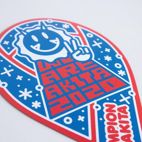 【2020優勝記念】CHAMPION リボンビッグマグネット