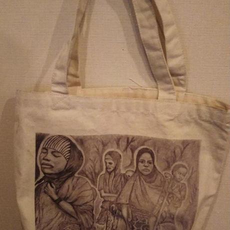 【パワー】メッセージを運ぶトートバッグ【大津司郎のアフリカ目撃】