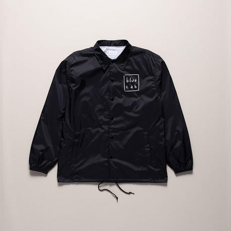 Blue Cab TAXI DRIVER Coach Jacket Black x White