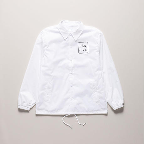 Blue Cab TAXI DRIVER Coach Jacket White x Black