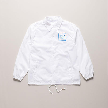 Blue Cab TAXI DRIVER Coach Jacket White x Blue
