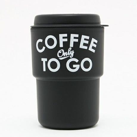 【Special kit】COFFEE ONLY TO GO タンブラー(BLACK) × LOVING EARTH チョコレート(ラズベリー・ミント・ダーク) 3枚セット