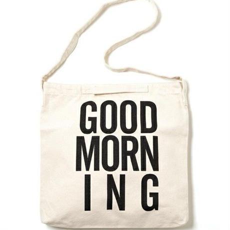 GOOD MORNING 2WAYBAG -WHITE-