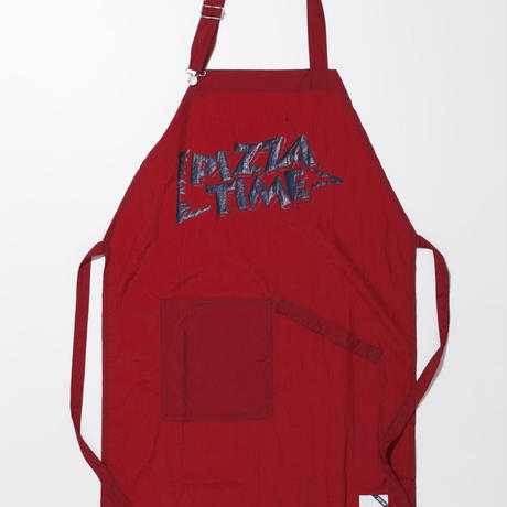 PIZZA TIME APRON-RED-