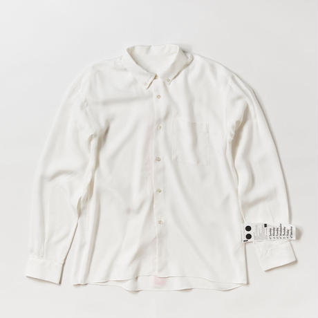 ELVIS BD COLLAR SHIRTS -WHITE-