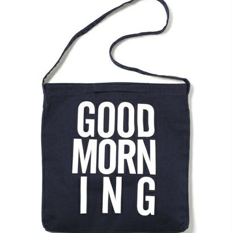 GOOD MORNING 2WAYBAG -NAVY-