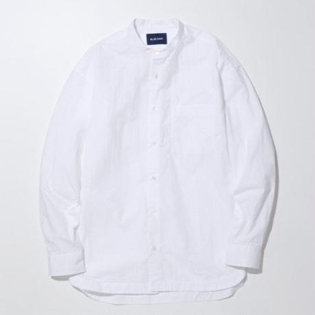 Good neighbors Band collar Shirts -WHITE-
