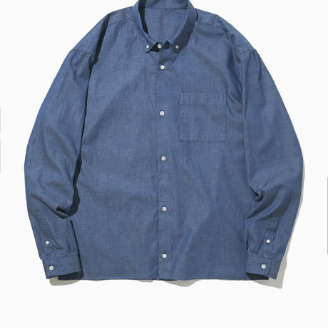 ELVIS BD COLLAR SHIRT-SEA-