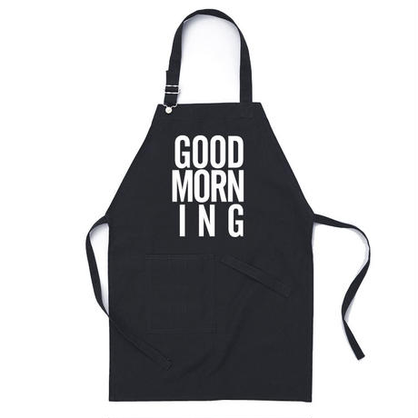 GOOD MORNING STAFF APRON  -NAVY-