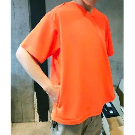 DAMON SHORT SLEEVE DOCTOR SHIRTS -ORANGE-