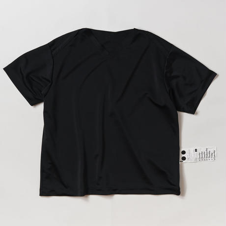 DAMON SHORT SLEEVE DOCTOR SHIRTS -BLACK-