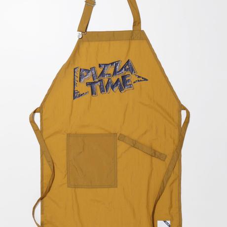 PIZZA TIME APRON-MUSTARD-