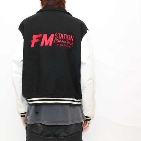 """FM STATION """"STAFF""""  Varsity Jacket"""