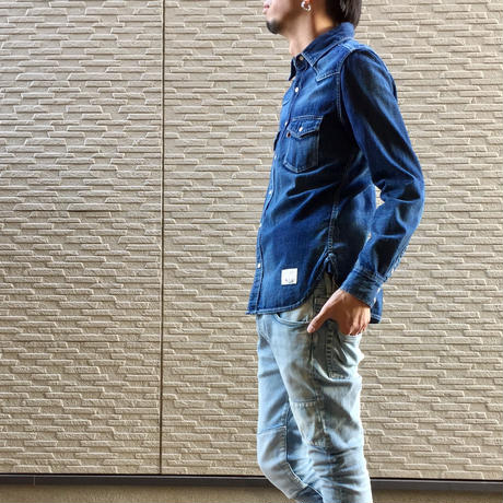 DENIM SHIRT USED【IND】/ BS-SH08