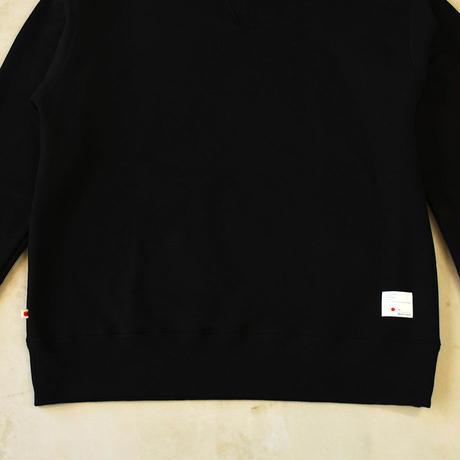 CLASSIC VINTAGE CREW NECK 【BLACK】  / BS-SW04-BK